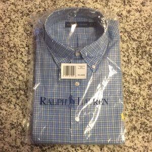 Ralph Lauren Men's Button Down Dress Shirt
